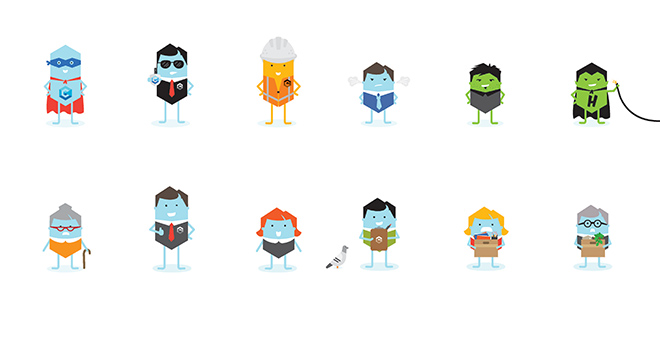 Cosentry Characters