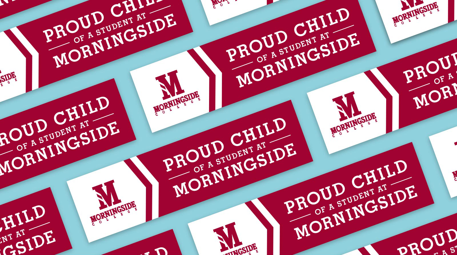 Morningside College bumpersticker