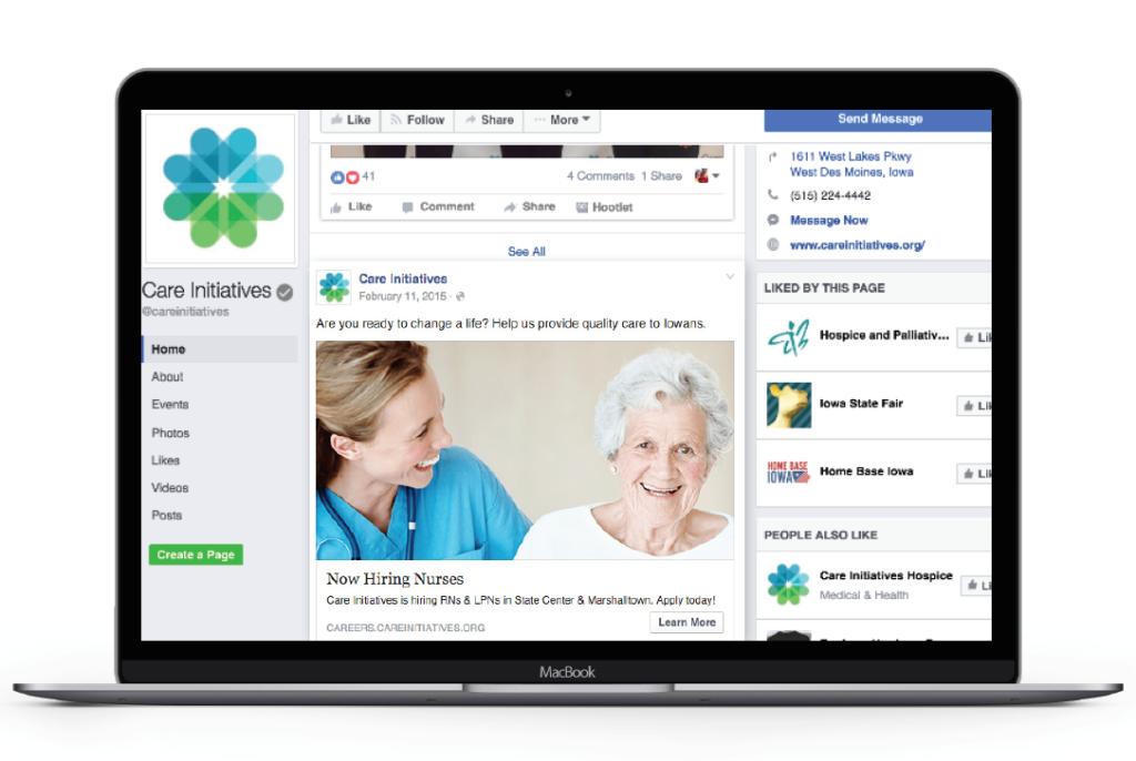 Care Initiatives Facebook Ad