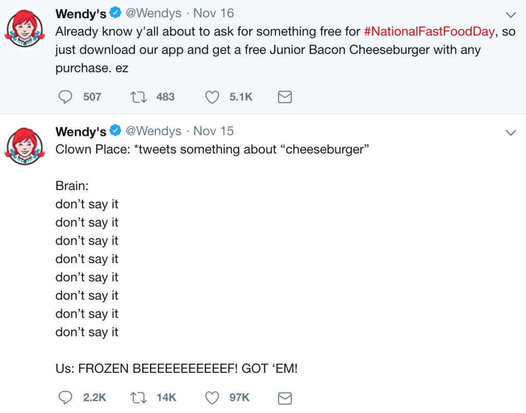 Wendy's on Twitter