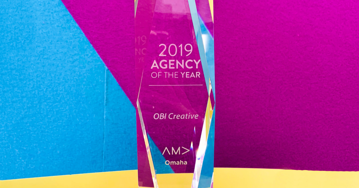 OBI Creative Named Agency of the Year by AMA